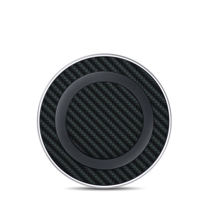 Carbon Fiber Samsung Wireless Charging Pad Skin