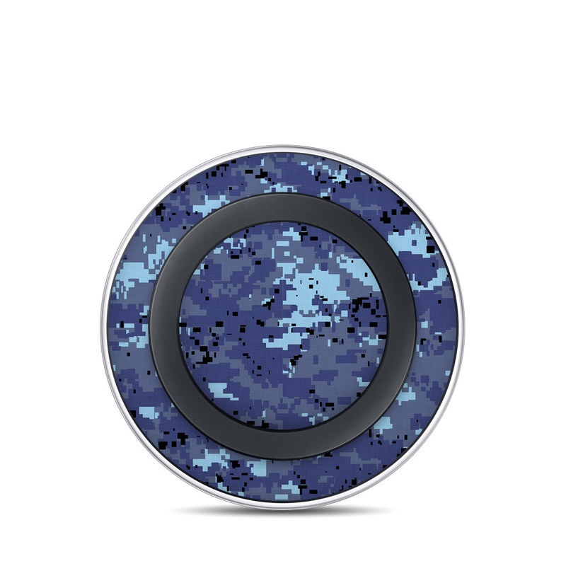 Digital Sky Camo Samsung Wireless Charging Pad Skin