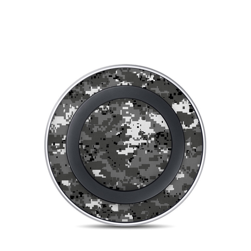 Digital Urban Camo Samsung Wireless Charging Pad Skin
