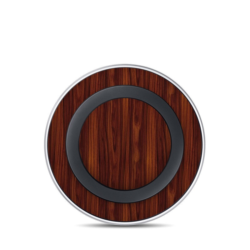 Dark Rosewood Samsung Wireless Charging Pad Skin