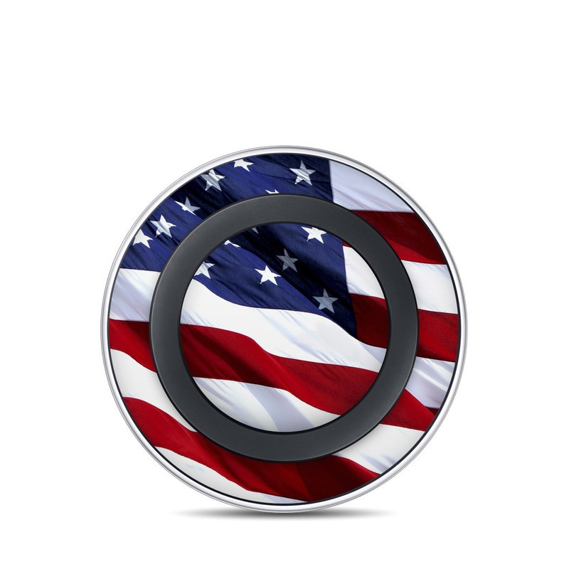 Patriotic Samsung Wireless Charging Pad Skin