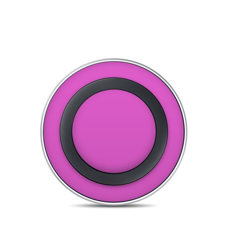 Solid State Vibrant Pink Samsung Wireless Charging Pad Skin