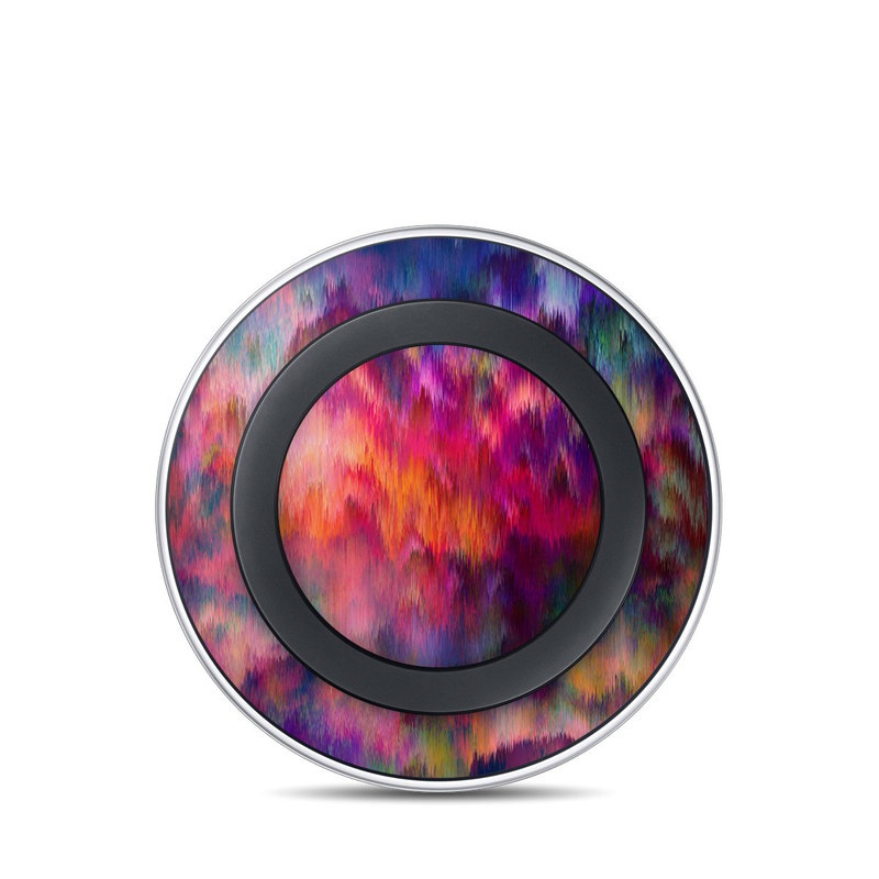 Sunset Storm Samsung Wireless Charging Pad Skin