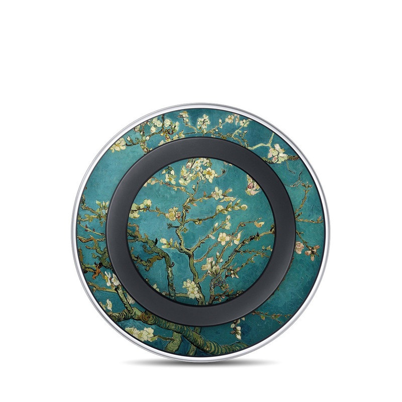 Blossoming Almond Tree Samsung Wireless Charging Pad Skin