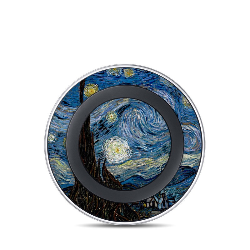 Starry Night Samsung Wireless Charging Pad Skin