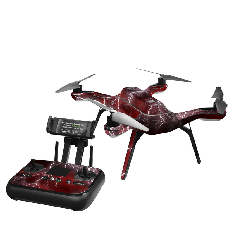 Apocalypse Red 3DR Solo Skin