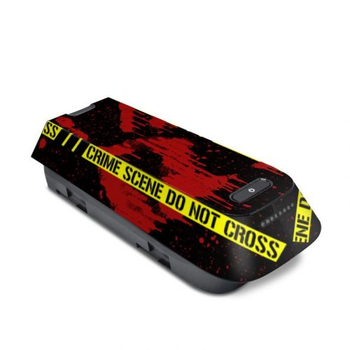 Crime Scene 3DR Solo Battery Skin