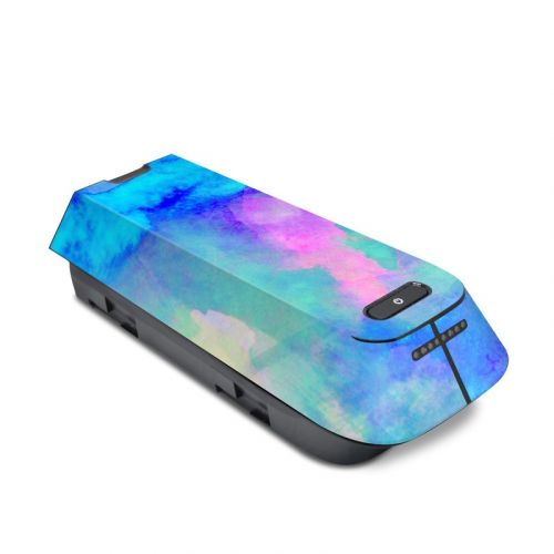 Electrify Ice Blue 3DR Solo Battery Skin