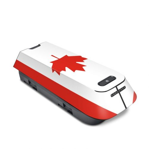 Canadian Flag 3DR Solo Battery Skin