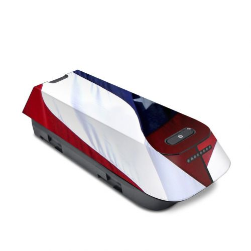 Patriotic 3DR Solo Battery Skin