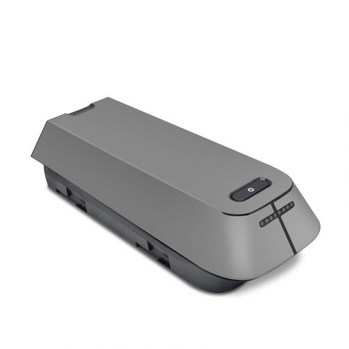 Solid State Grey 3DR Solo Battery Skin
