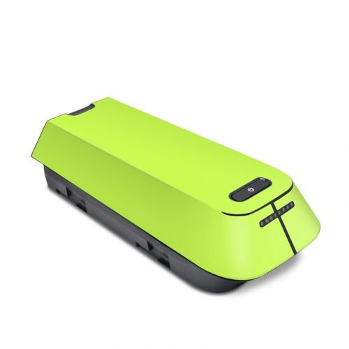 Solid State Lime 3DR Solo Battery Skin