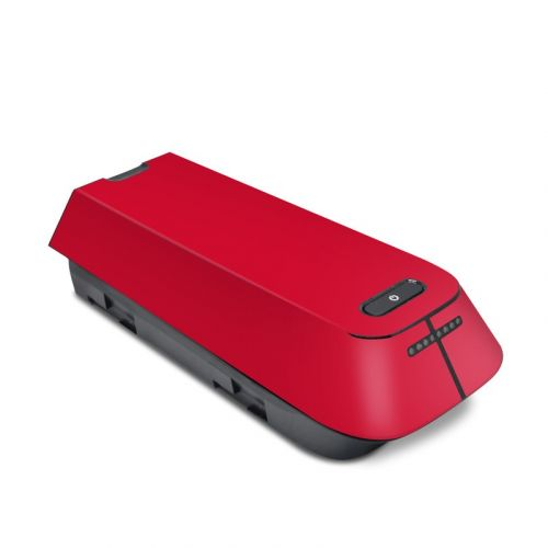 Solid State Red 3DR Solo Battery Skin