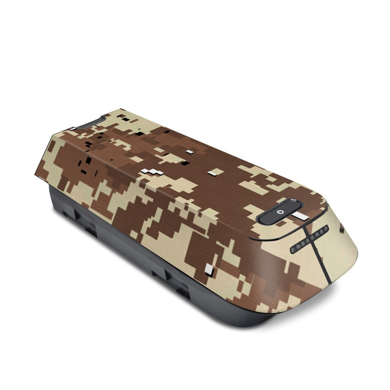 3DR Solo Battery Skin design of Military camouflage, Camouflage, Pattern, Brown, Uniform, Design, Textile, Beige, Metal with black, gray, red, green colors