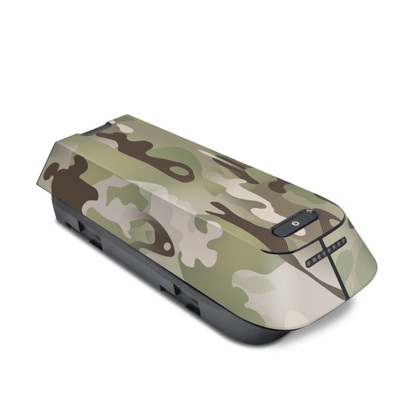 3DR Solo Battery Skin design of Military camouflage, Camouflage, Pattern, Clothing, Uniform, Design, Military uniform, Bed sheet with gray, green, black, red colors