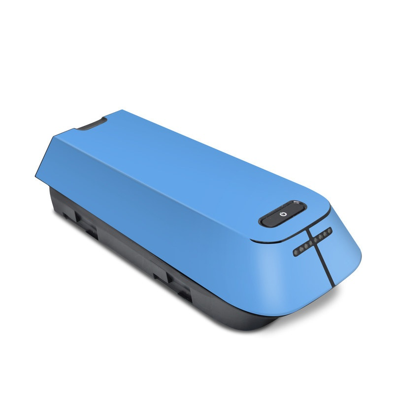 Solid State Blue 3DR Solo Battery Skin