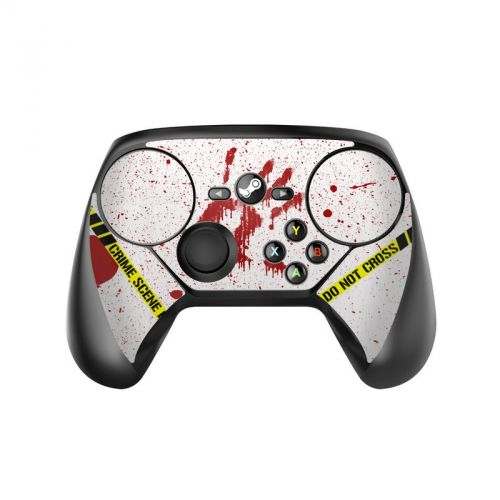 Crime Scene Revisited Valve Steam Controller Skin