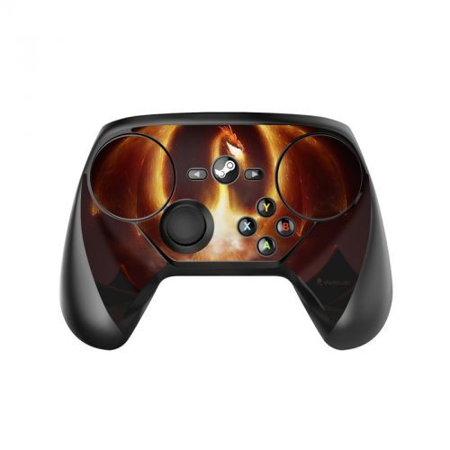 Fire Dragon Valve Steam Controller Skin