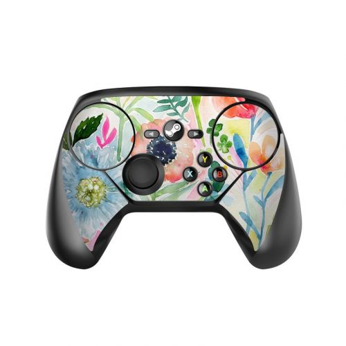 Loose Flowers Valve Steam Controller Skin