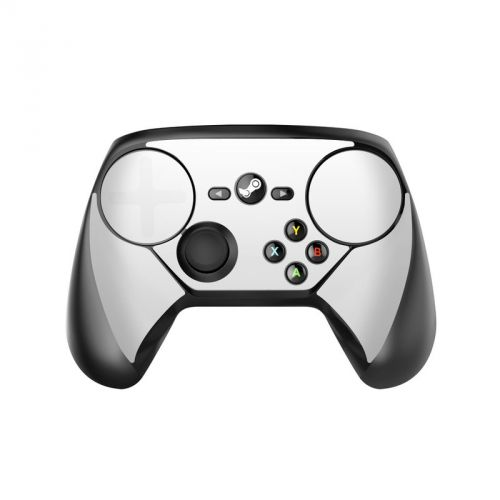 Solid State White Valve Steam Controller Skin