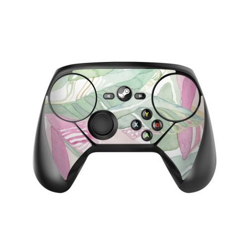 Tropical Leaves Valve Steam Controller Skin