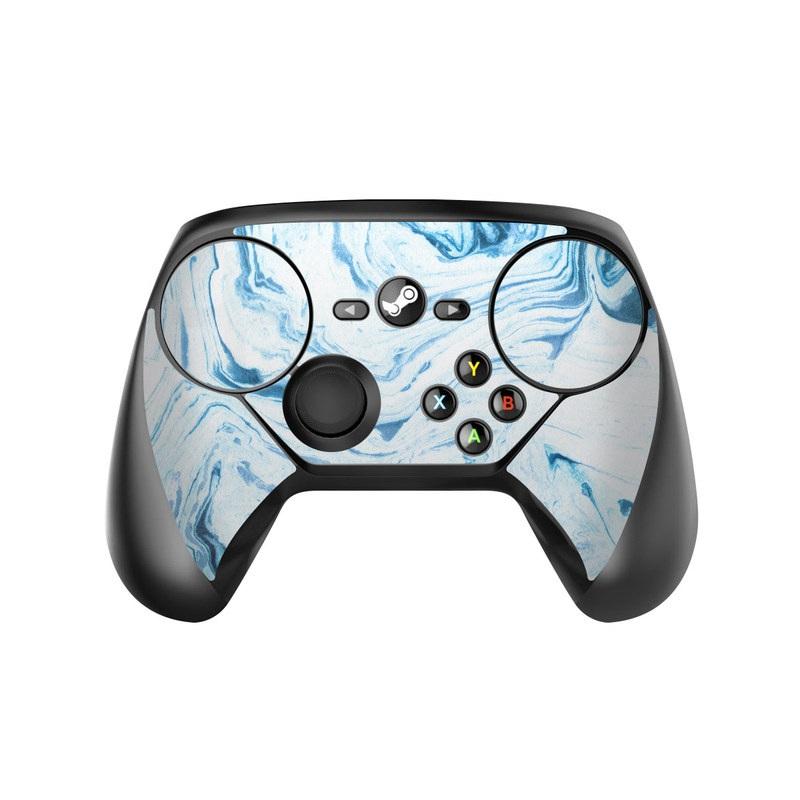 Azul Marble Valve Steam Controller Skin