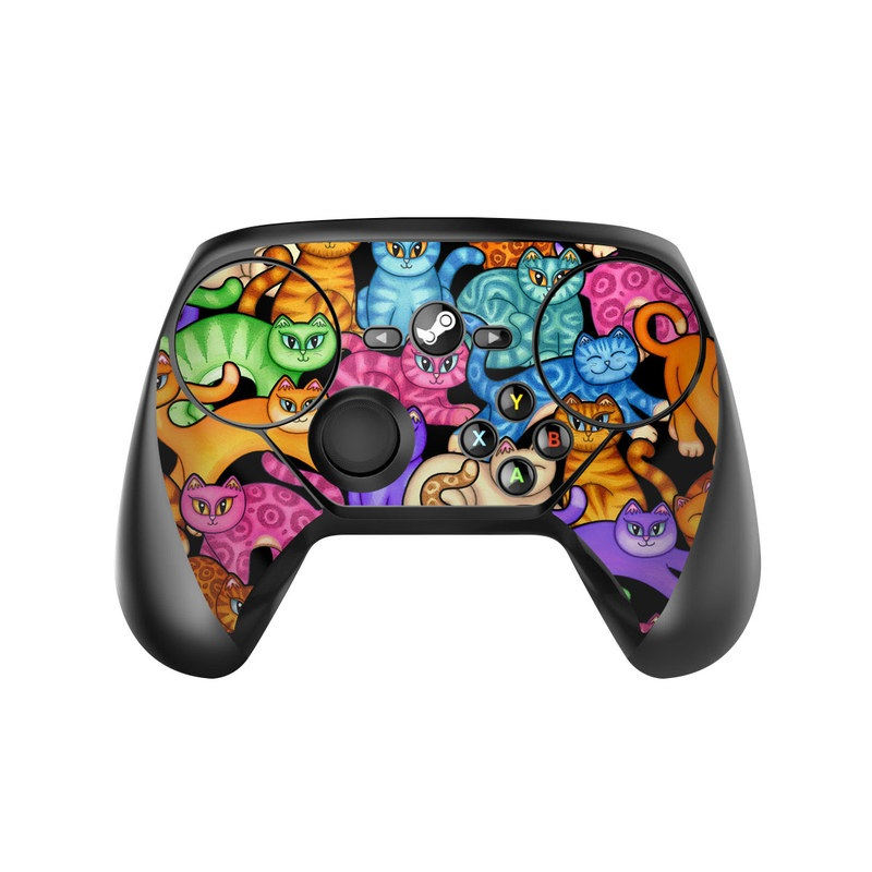 Colorful Kittens Valve Steam Controller Skin