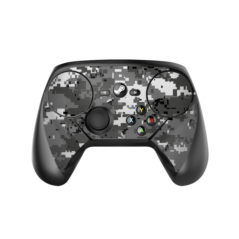 Digital Urban Camo Valve Steam Controller Skin