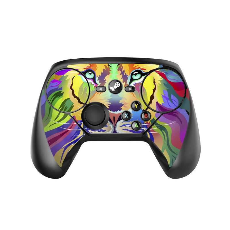 King of Technicolor Valve Steam Controller Skin