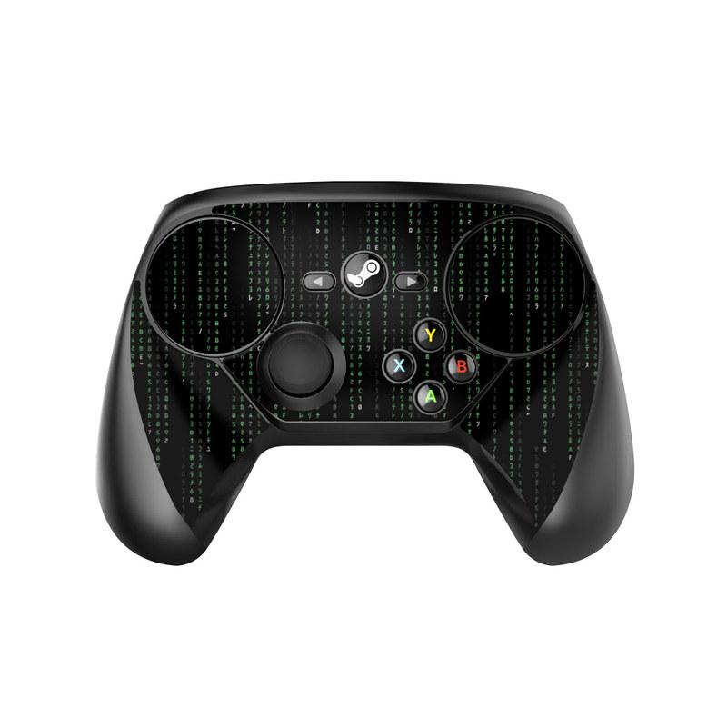 Matrix Style Code Valve Steam Controller Skin