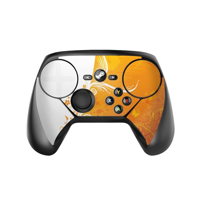 Orange Crush Valve Steam Controller Skin
