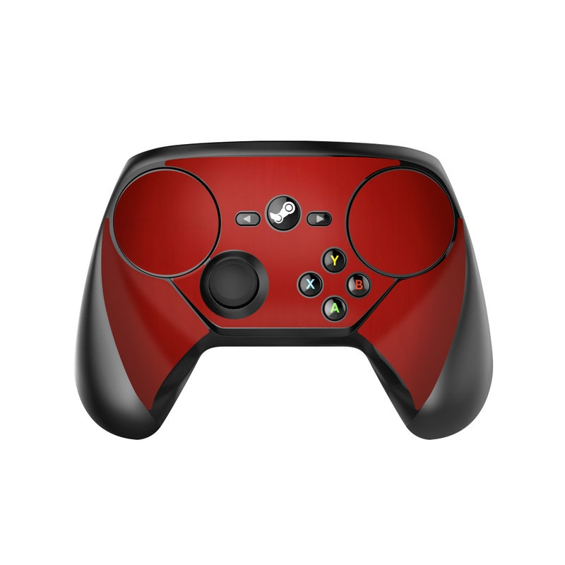 Red Burst Valve Steam Controller Skin