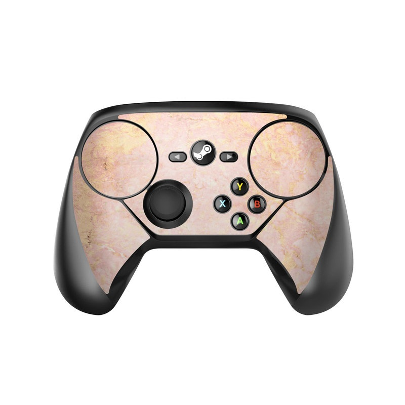 Rose Gold Marble Valve Steam Controller Skin