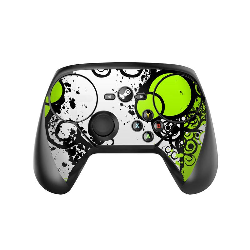 Simply Green Valve Steam Controller Skin