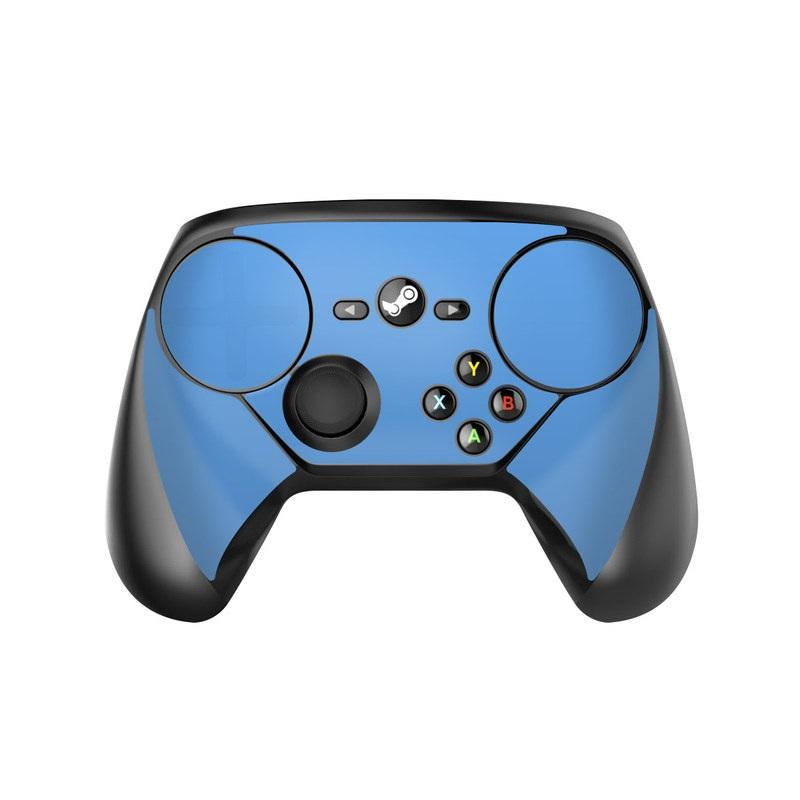 Valve Steam Controller Skin design of Sky, Blue, Daytime, Aqua, Cobalt blue, Atmosphere, Azure, Turquoise, Electric blue, Calm with blue colors