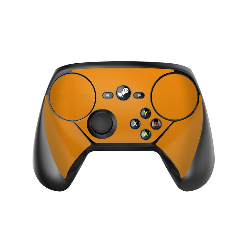 Solid State Orange Valve Steam Controller Skin