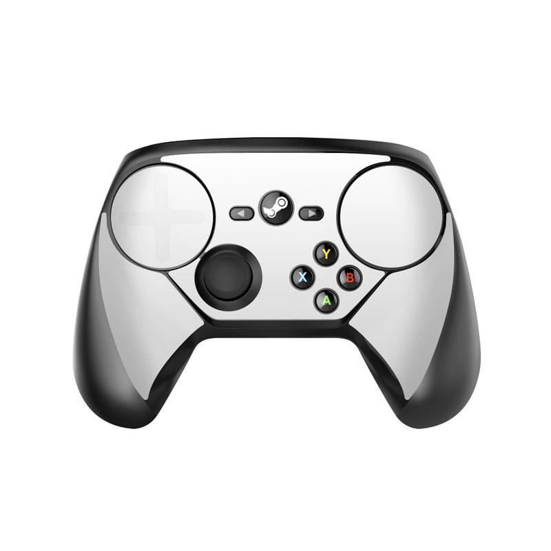 Solid State White Valve Steam Controller Skin