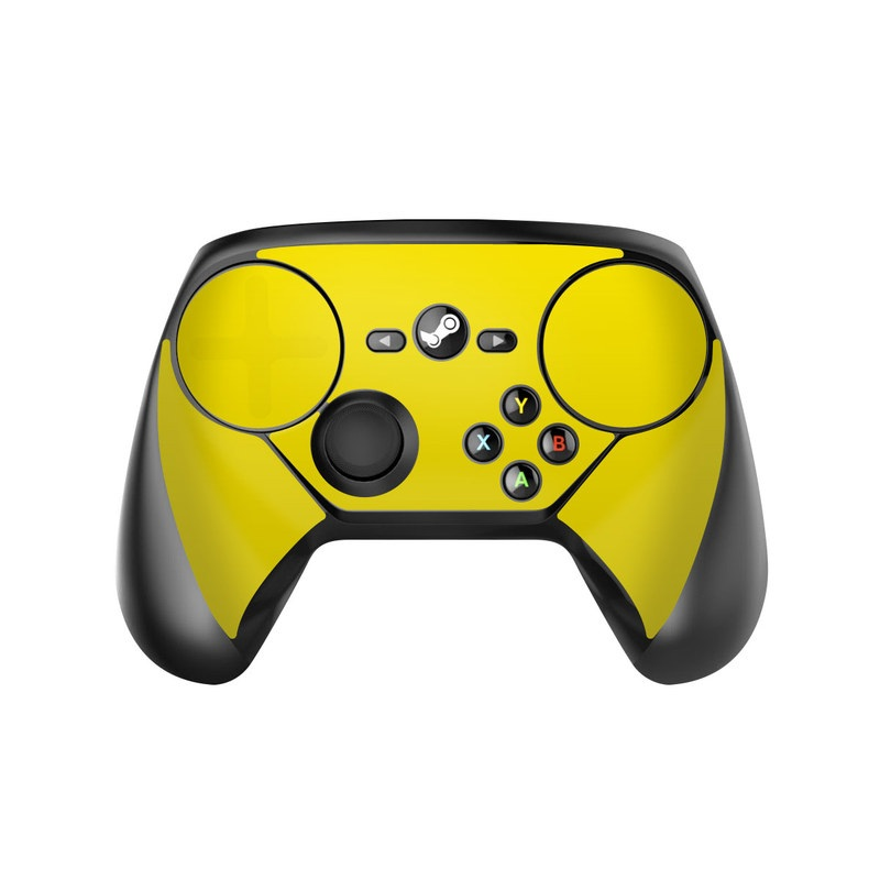 Solid State Yellow Valve Steam Controller Skin
