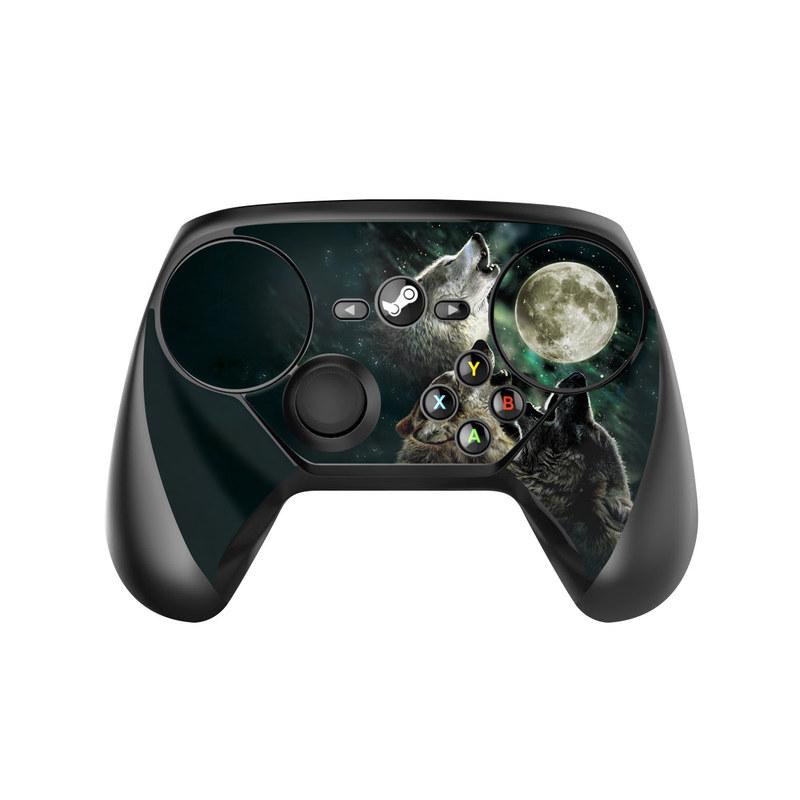 Three Wolf Moon Valve Steam Controller Skin