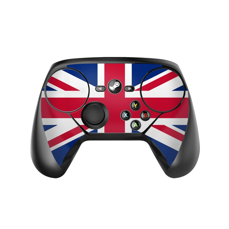 Union Jack Valve Steam Controller Skin