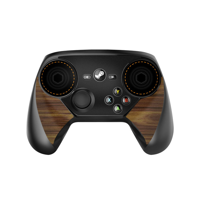 Wooden Gaming System Valve Steam Controller Skin