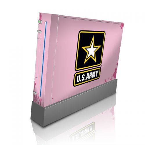 Army Pink Wii Skin