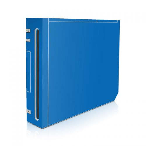 Solid State Blue Wii Skin