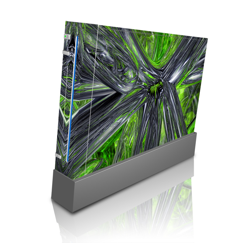 Wii Skin design of Green, Tree, Leaf, Plant, Grass, Terrestrial plant, Botany, Woody plant, Arecales, Vascular plant with green, gray, black colors