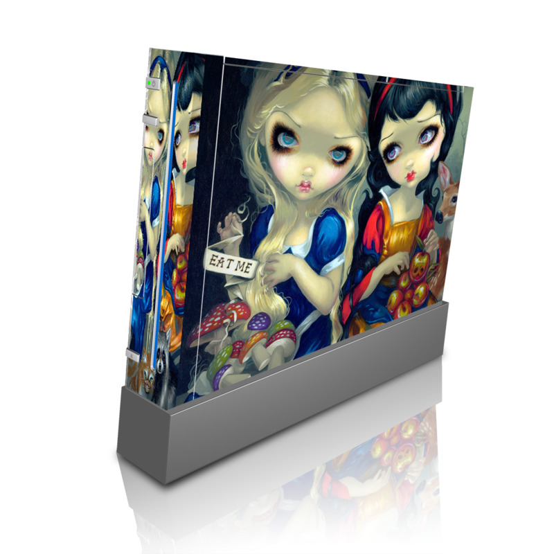 Alice & Snow White Wii Skin