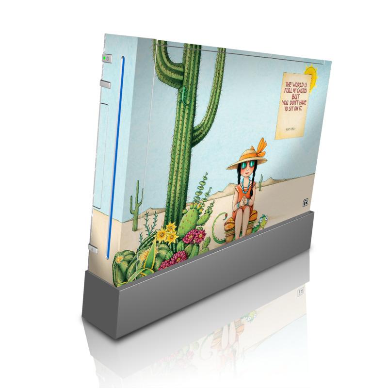 Cactus Wii Skin