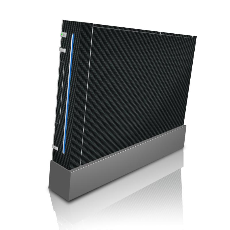 Carbon Fiber Wii Skin