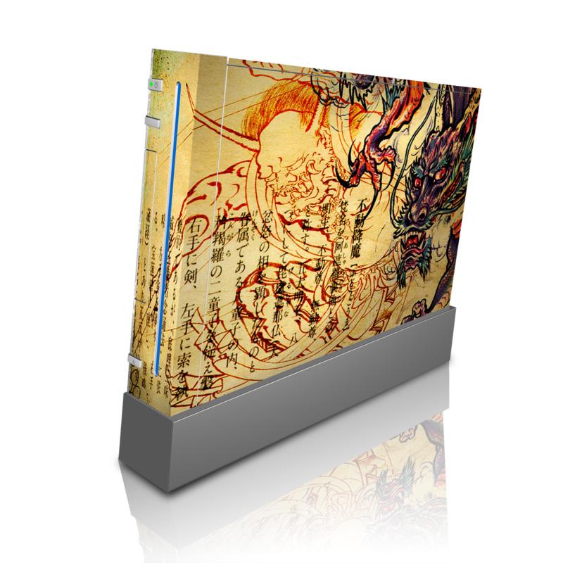 Dragon Legend Wii Skin