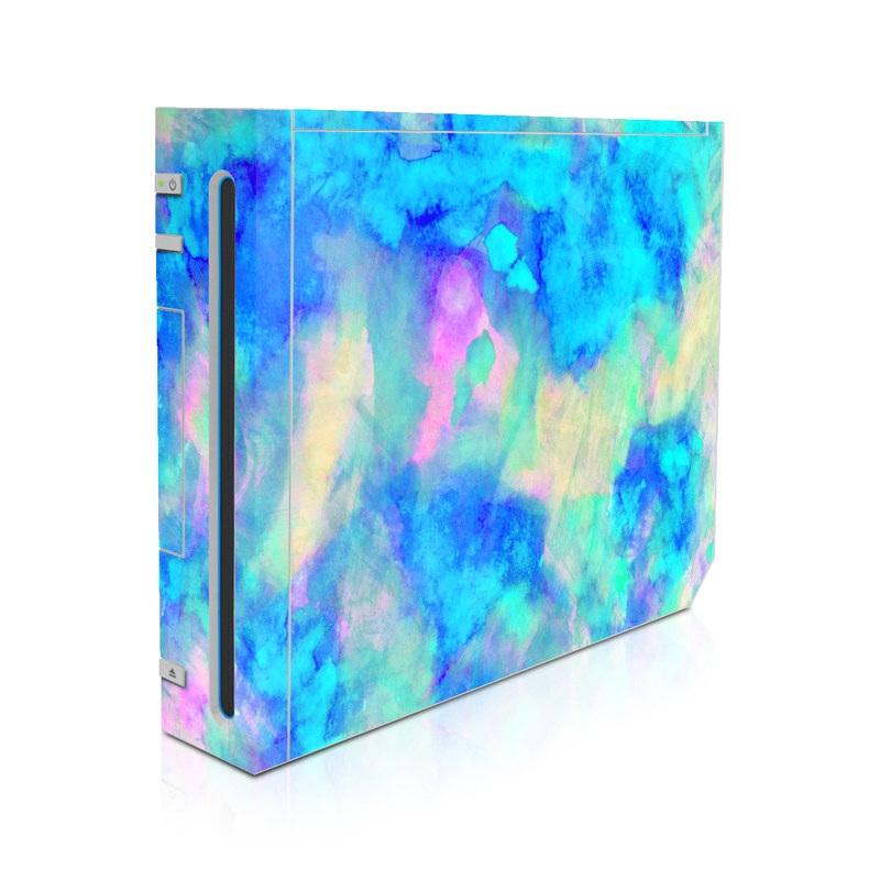 Electrify Ice Blue Wii Skin