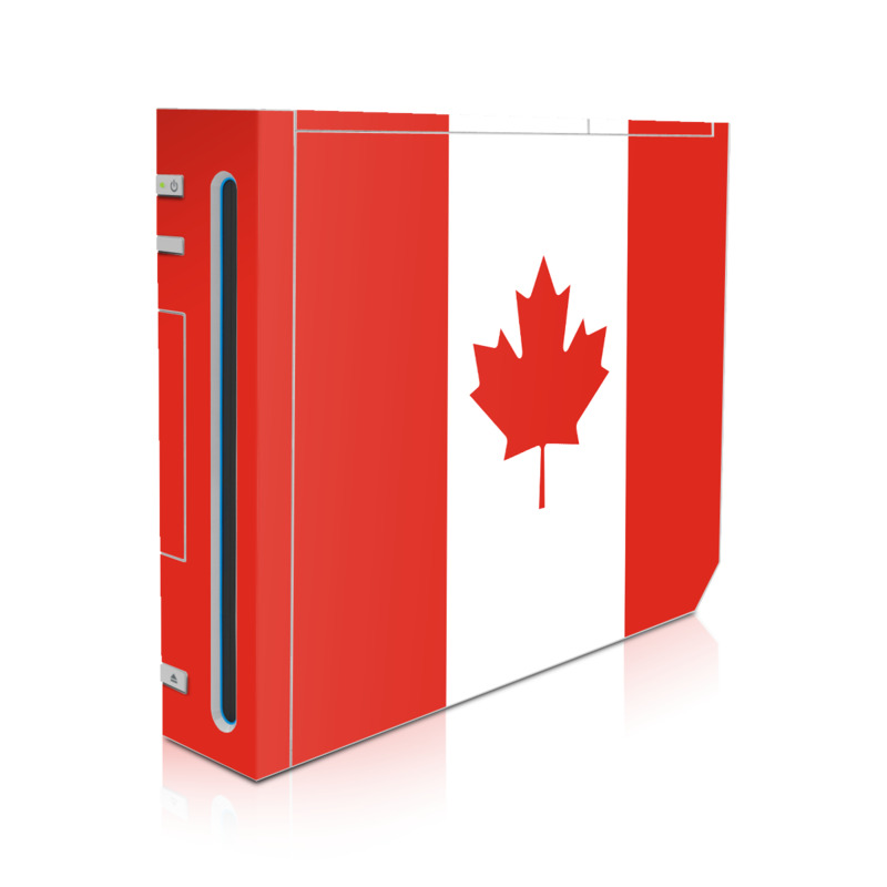 Canadian Flag Wii Skin